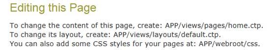 CakePHPトップページ用ビューの作成場所